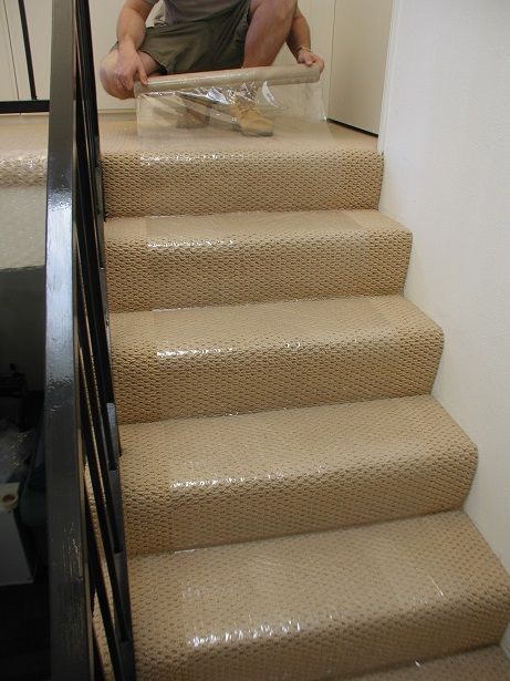 plastic stair runners for carpet