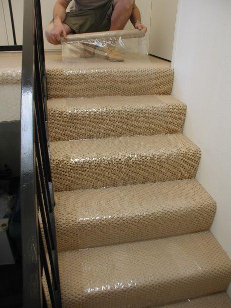 plastic stair runners for carpet
