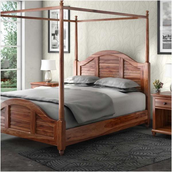 platform canopy bed