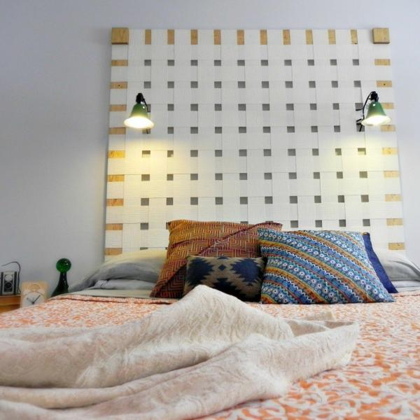 quick easy headboard ideas