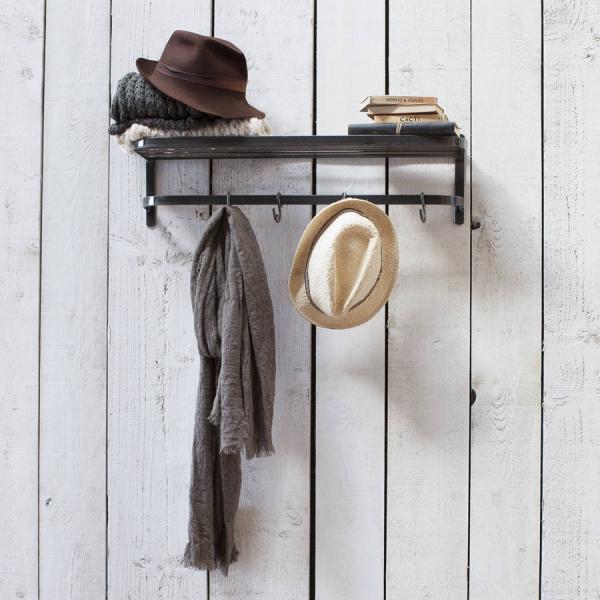 shelf hat rack