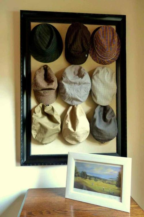 small hat rack