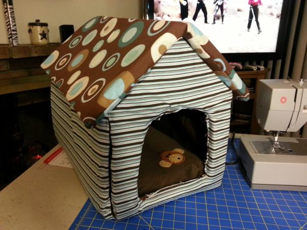 soft sided dog house