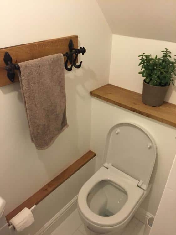 tiny downstairs toilet ideas