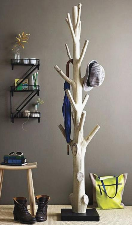 tree hat rack