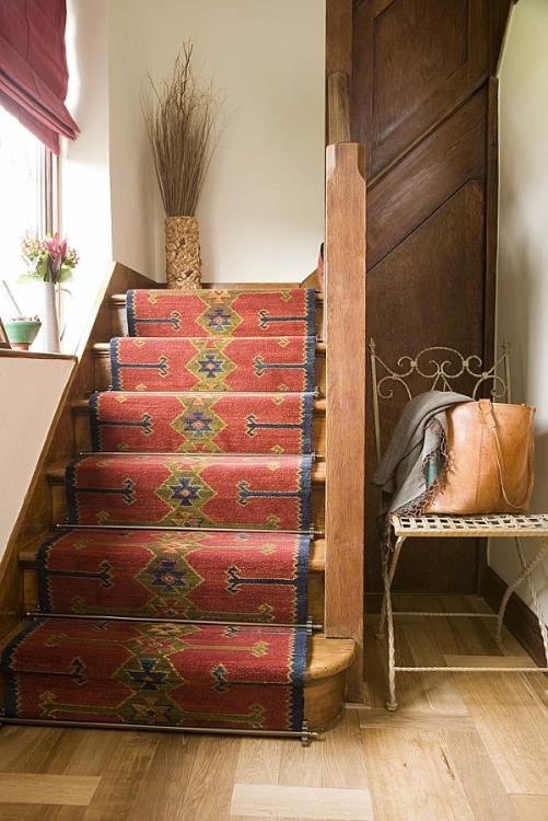 unusual stair carpet