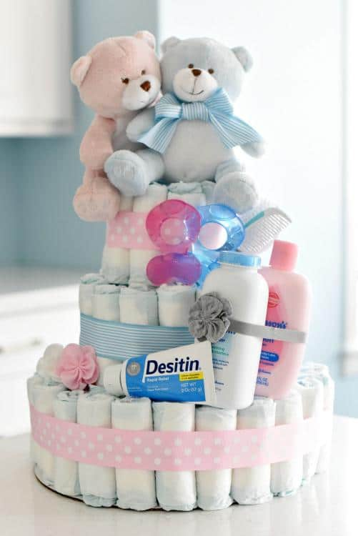useful baby shower centerpieces