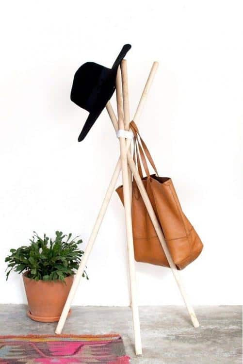 very cool hat rack ideas