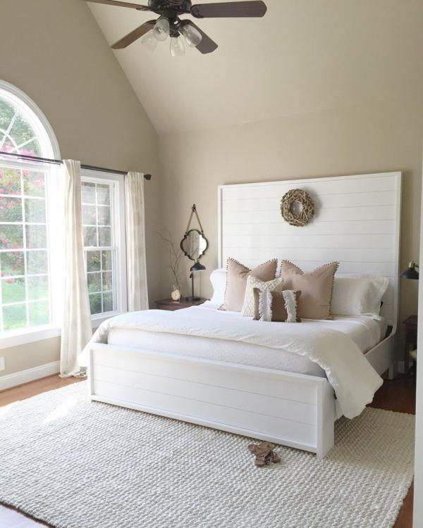 white headboard ideas
