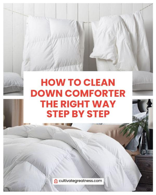 How to Clean Down Comforter the Right Way Step by Step