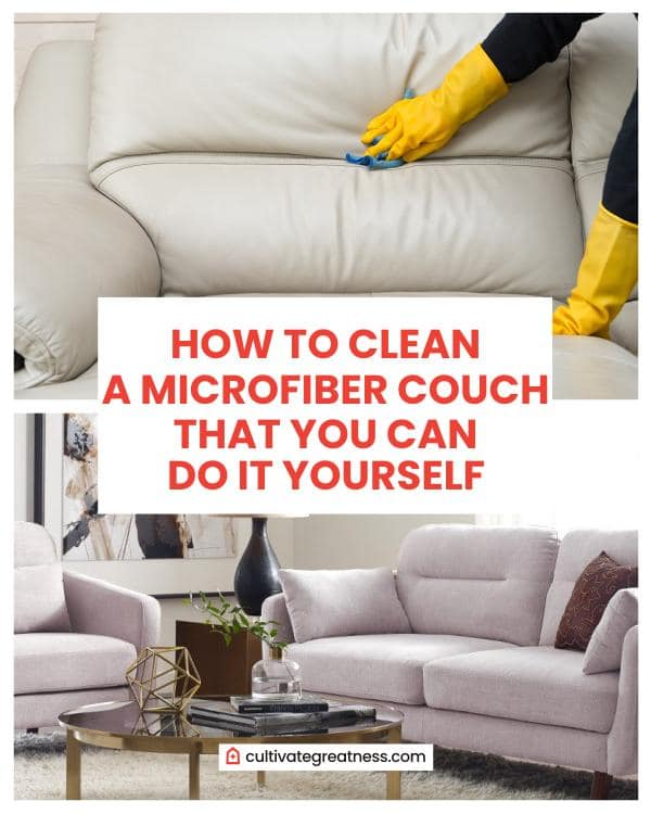 How to Clean a Microfiber Couch that You Can Do It Yourself