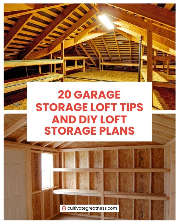 Garage Storage Loft Tips and DIY Loft Storage Plan
