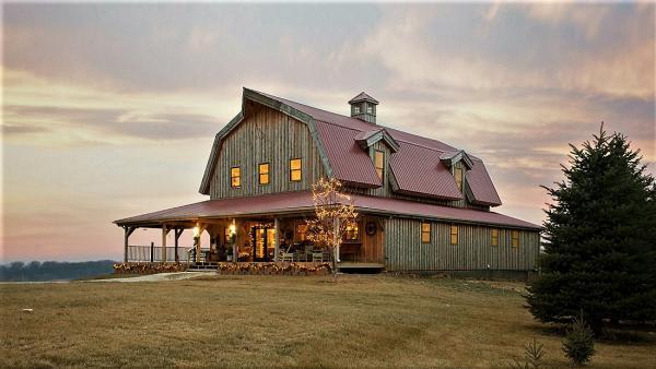 classic barn floor plan