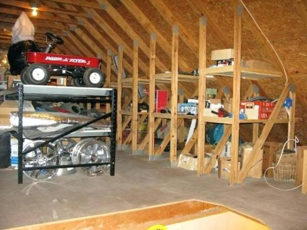 garage loft storage solutions