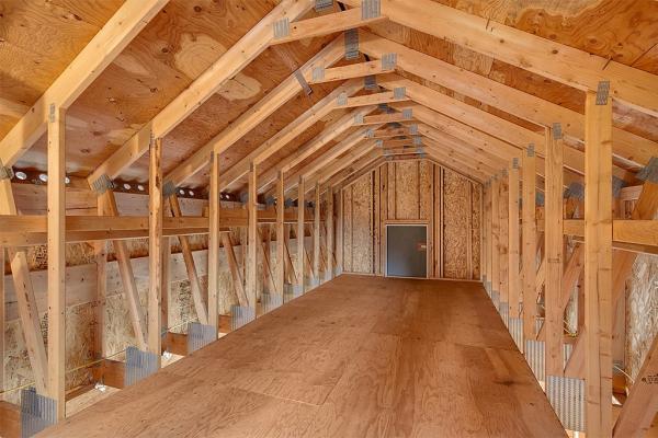 garage loft storage system