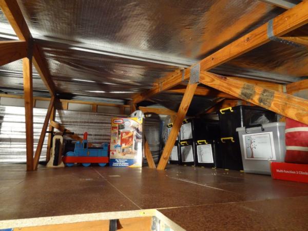 garage storage loft designs