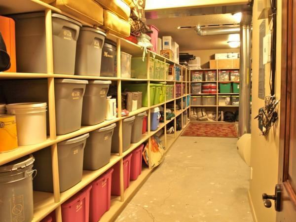 garage storage loft kit