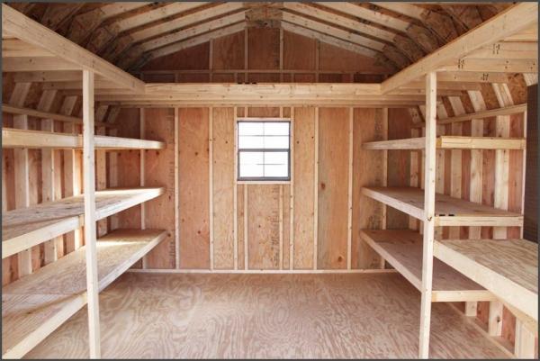 installing a garage storage loft