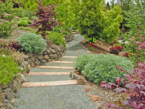 low maintenance hillside landscaping ideas