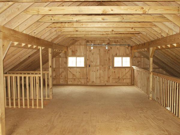 overhead garage loft storage