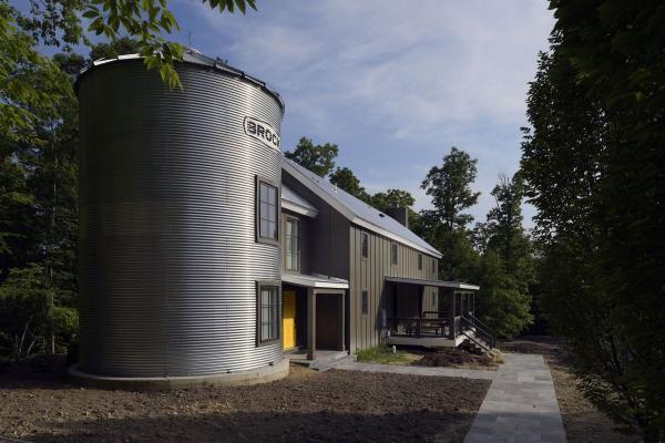 silo barndominium design plan