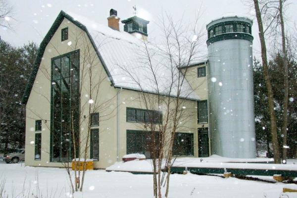 silo barndominium design