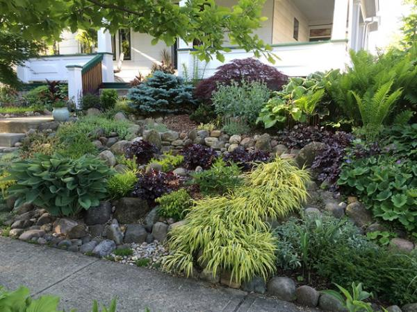 small hillside landscaping ideas