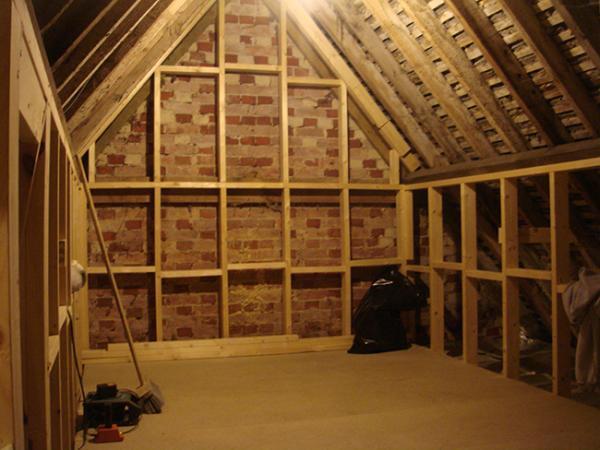 storage loft in garage
