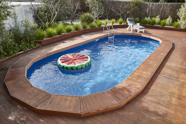 free above ground pool deck blueprints