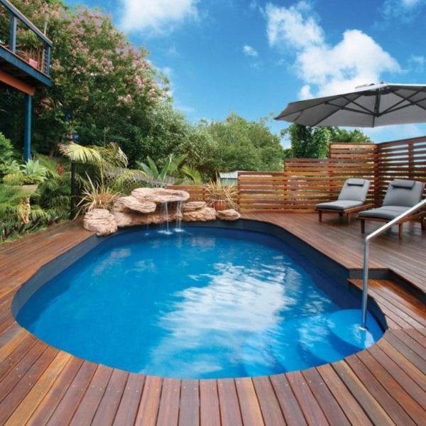 universal above ground pool decks