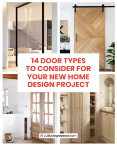 Door Types to Consider for Your New Home Design Project