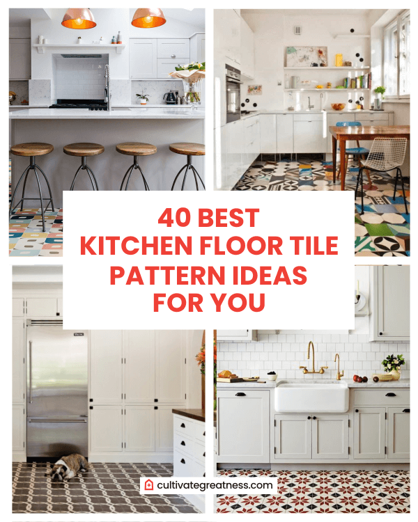 40 Best Kitchen Floor Tile Pattern Ideas For You