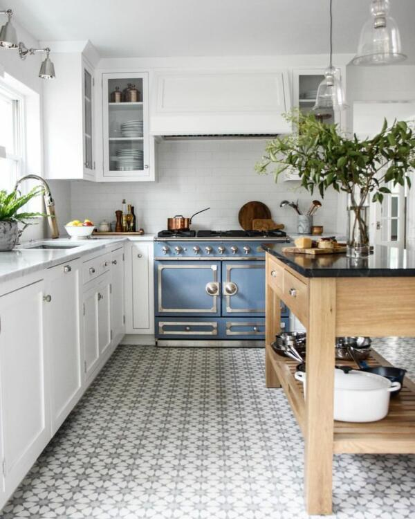 galley kitchen floor ideas