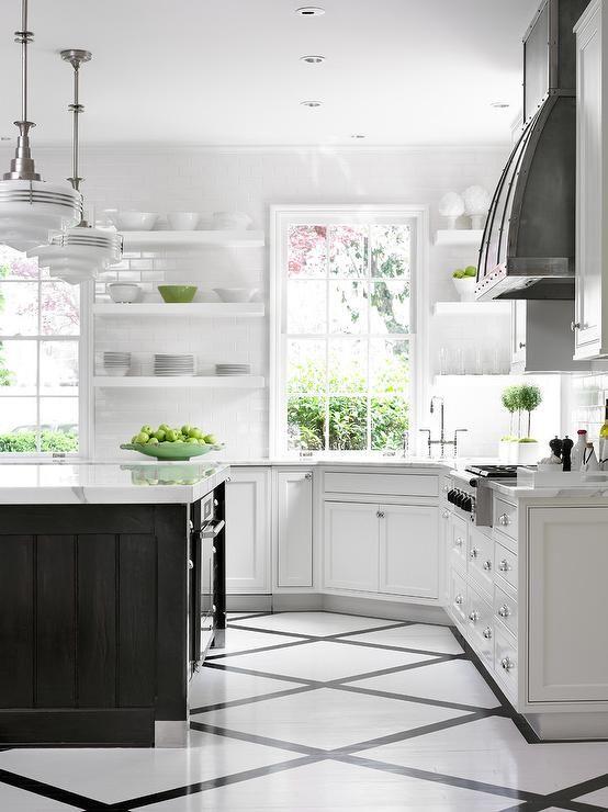kitchen floor transition ideas