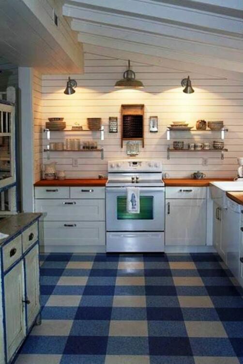 lino kitchen floor ideas on a budget