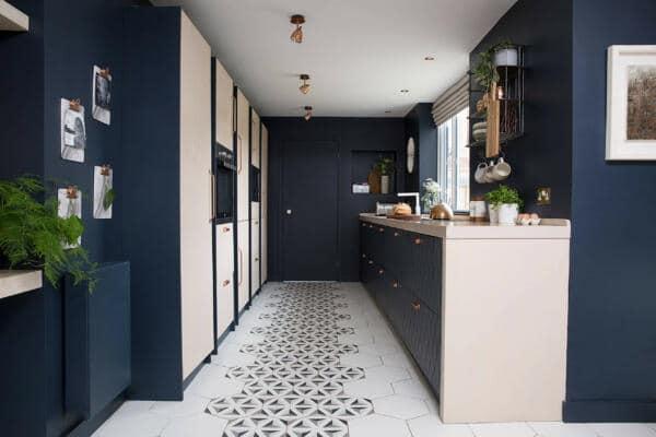 new kitchen floor tile designs