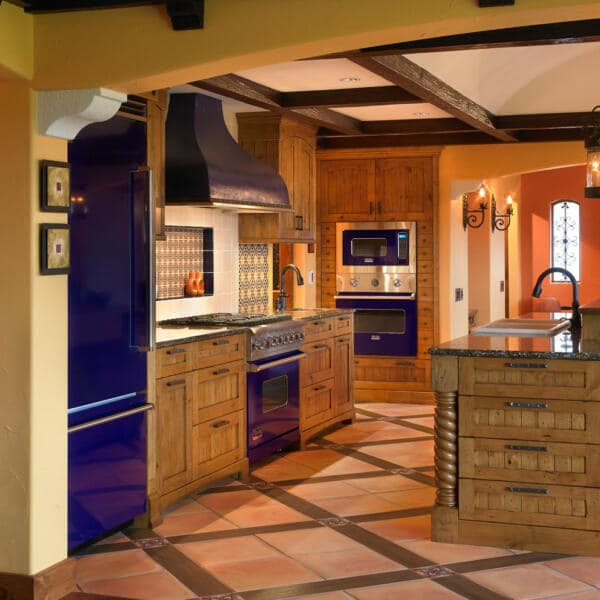 southwestern kitchen floor tiles ideas