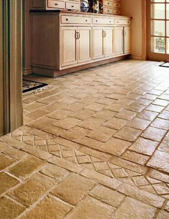 uneven kitchen tiles for floor ideas