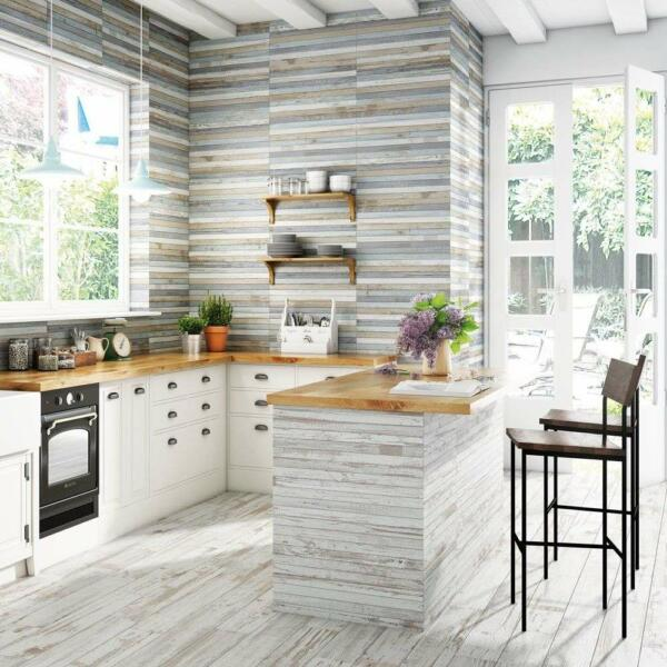 urban mix waterfall wood tiles