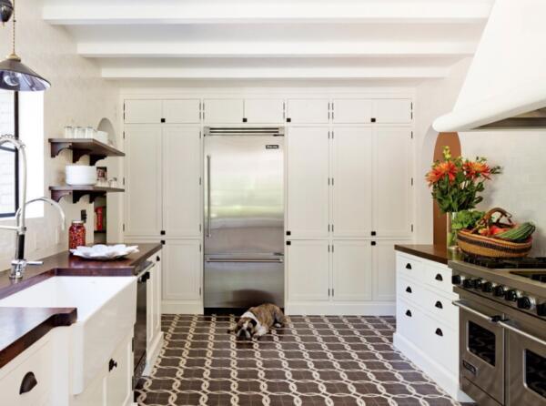 vintage kitchen floor ideas