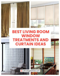 Best Living Room Windows Treatment and Curtains Ideas