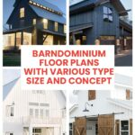 Barndominium Floor Plans with Various Type Size and Concept