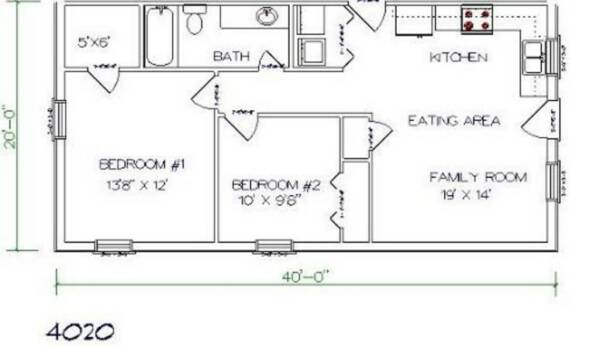 Barndominium with Bedrooms and Bathroom