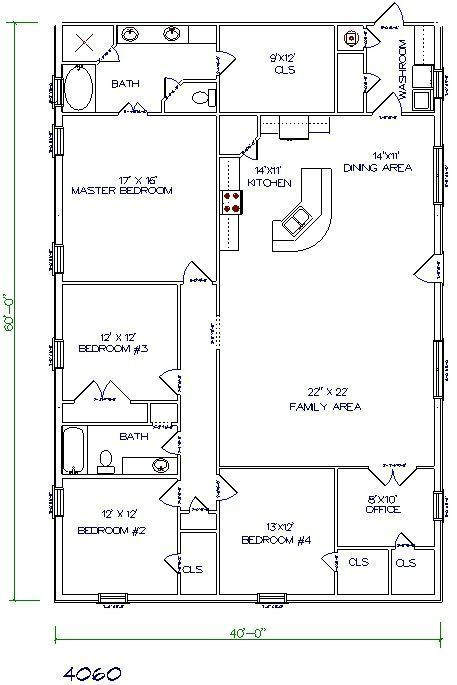 Barndominium with Bedrooms and or More Bathrooms
