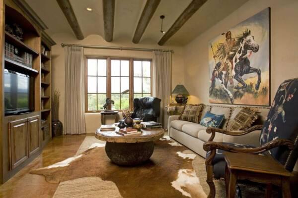 american southwestern interior decor
