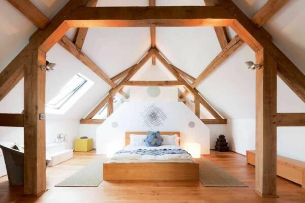 barn conversion bedroom ideas