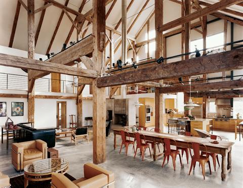 barn conversion furniture ideas