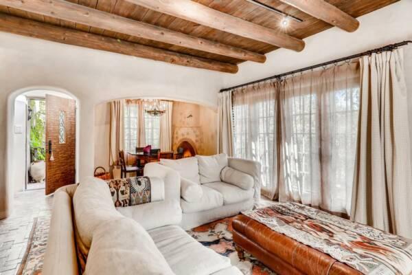 modern southwestern living room