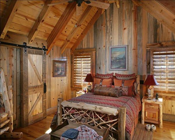 rustic barn conversion bedroom ideas