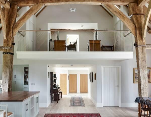 rustic barn conversion modern interior ideas